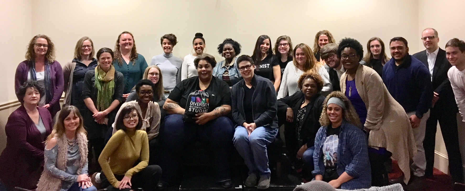 Roxane Gay visit with GWS and Creative Writing