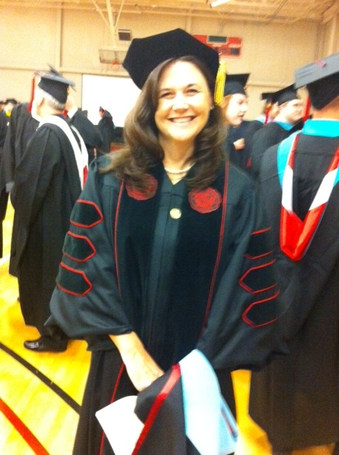 Angela Gunter at Spring 2011 Commencement
