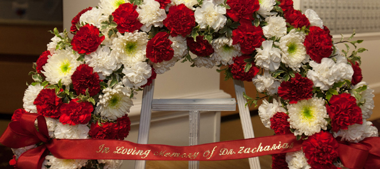 There is a second memorial at Zacharias Hall, a residence hall named in his honor in 1997.